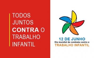 Campanha de enfrentamento contra o trabalho infantil. Programa de Apoio Social – PAS – Unidade CITE Sta. Cândida
